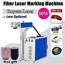 30w Fiber Laser Marking Machine Metal Engraving Machine Raycus Laser For Tumbler