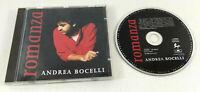 CD Andrea Bocelli  Romanza  Disque etat parfait  Envoi rapide et suivi