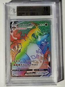Pokemon Charizard VMAX 074/073 Champions Path PRISTINE GOLD LABEL BGS 10 Beckett