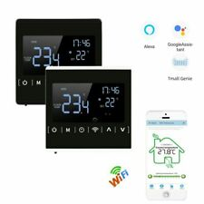 110v 220v Touch Screen Back Light Programmable Thermostat Warm Floor Temperature