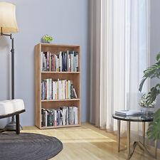 VICCO Bücherregal 117 x 60 cm Wandregal Aktenregal Holzregal Ordner Akten Büro
