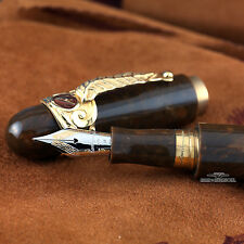 Montegrappa Limited Edition Solid Gold Cigar Fountain Pen #0092/100
