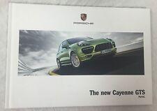 PORSCHE THE NEW CAYENNE GTS PURIST  HARDCOVER  CATALOG BOOK 2011 2012