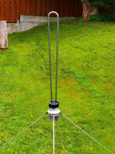 4m Antenne KATHREIN K5126421 74-87,5MHz 0dB  N Buchse 75W BOS aus Rückbau