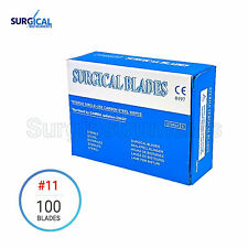 100 Scalpel Blades #11 Surgical Dental ENT Instruments