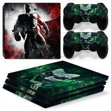 Batman Arkham PS4 Pro Protective Skin Stickers Console & 2 Controllers - #0091