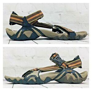 B19 Teva Volterra Men's Size 11 Water Sports Comfort Brown Sandals 6974 Outdoor