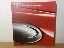 Ferrari 550 Barchetta Brochure Press Set Leaflet Prospekt 1616/00