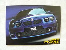 MG Rover ZT 190 - Prospektkarte Brochure 07.2001