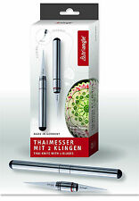 """Triangle: """"Thaimesser """" coltello Thai per incidere frutta /verdura -"""