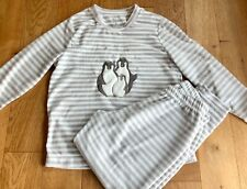 Super Cosy Women's  Pyjamas  / 2 Piece Set 12-14 Fab Condition