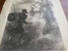 1895.Vision.Lithographie de Fantin Latour.