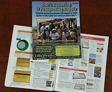 Gold Nugget and Treasure Rock Hunting, Metal Detector 51 Page Equipment Catalog