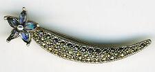 Marquise Fine Diamond & Gemstone Brooches & Pins
