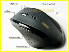 RAPOO SOURIS SANS FIL ERGONOMIC WIRELESS MOUSE 2.4G CONFORTABLE MOUSE 1600DPI