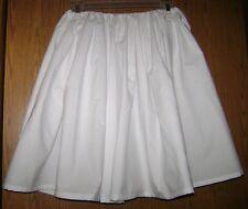 Civil War Period Correct Girls Petticoat 100% Cotton Drawstring Waist