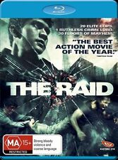 The Raid (Blu-ray, 2012) New, ExRetail Stok (D141)