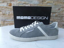 Momodesign momo sneakers GR 43 schnürschuhe zapatos Shoes gris nuevo PVP 154 €