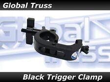 Global Truss Trigger Clamp in Black FinishTurn a 2 man job into a 1 man job!
