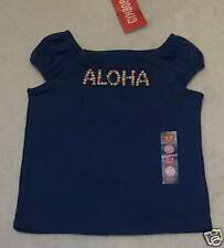NWT 3-6 Months Gymboree BEACH SHACK Blue s/s ALOHA T-Shirt TOP