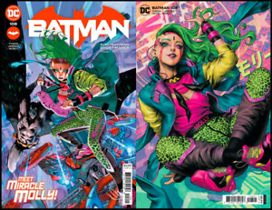 (2021) BATMAN #108 + ARTGERM Variant 2 Cover Set! 1st FULL App Miracle Molly!