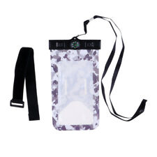Waterproof Phone Case Dry Bag Cellphone Pouch Cover with Armband & Lanyard