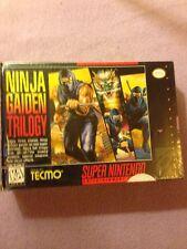 Ninja Gaiden Trilogy (Super Nintendo Entertainment System, 1995) Very Rare