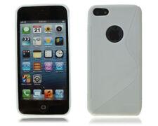 Fundas y carcasas Apple color principal blanco de silicona/goma para teléfonos móviles y PDAs