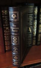 THE AMERICAN FAMILY Easton Press DAN QUALY SIGNED 1ST EDITION FINE