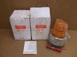 MIP-A North American Signal NEW In Box 12V Amber Orange Flashing Light MIPA