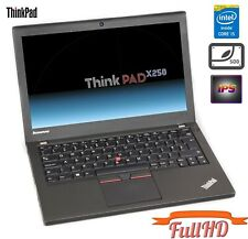 "Lenovo ThinkPad X250 i5-5300u 8GB 256GB SSD USB 3.0 12,5"" IPS FHD FullHD WEBCAM"