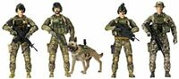 Elite Force Army Ranger Action Figure 5 Pack