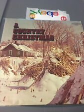 christmas A COUNTRY CHRISTMAS/TAMMY WYNETTE ECT.-COLUMBIA CSS 1434  LP Record