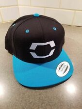 *Embroidered* Pokemon Sun & Moon Trainer Hat (Black and Teal) Brand New!
