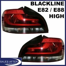 Original BMW E82 Coupe E88 Cabrio Heckleuchten Blackline HIGH Rückleuchten LED