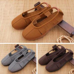 Summer Canvas Tendon monk shoes shaolin durable shoes Buddhist monk Breathable