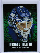 2016 ITG FINAL VAULT JONATHAN BERNIER 10/11 BTP MASKED MEN III MAPLE LEAFS