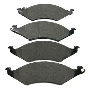 AutoSpecialty 24-421-02 Semi-Metallic Brake Pads for 1986-1991 Taurus or Sable