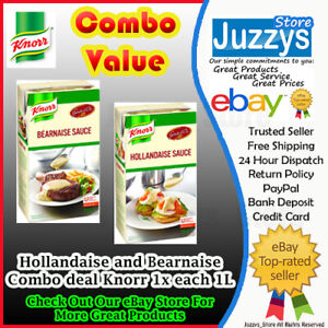 Knorr Garde D'or Bearnaise and Hollandaise Sauce 1L COMBO FREE POSTAGE