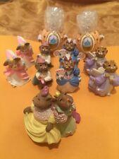 Vintage Hallmark Keepsake Ornament Club Cinderella Mouse Lot 1994 Miniature mini
