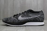 30 New Nike Flyknit Racer Oreo 2.0 Black White Shoes 526628-012 Men's Sz 7 15