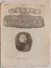 ALBUM DI ROMA 1856 GUGLIELMO DELLA VALLE PRINZ STATUA