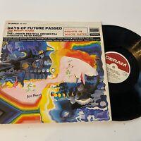 Moody Blues Days of Future Passed Vinyl 1967 Deram DES 18012