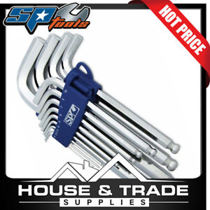 SP Tools Hex Key Set 13 Piece Metric Magnetic Ball Drive SP34526