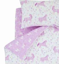 Parures et housses de couette rose pour drap-housse