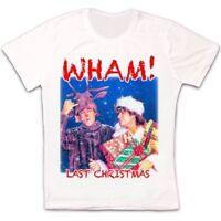 Last Christmas Wham George Michael Retro Vintage Hipster Unisex T Shirt 2311
