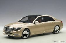 Mercedes Maybach S-Klasse S600 Gold 1:18 Model 76294 AUTOART