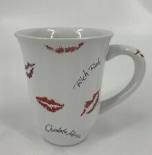 Mary Kay Mug Lipstick Lips Kisses 12 ounce oz Coffee Cup