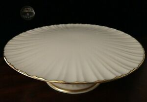 """Vintage Lenox Ivory Pedestal Cake/Server Plate 10 3/4"""""""