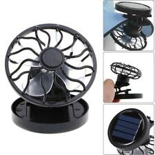 Portable Mini Solar Clip-On Cap Fan Outdoor Travel Camping Hiking Cooling Cooler